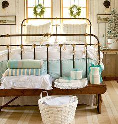 guest bedroom ~ ready for guests Coastal Master Bedroom, Dream Bedroom, Home Bedroom, Bedroom Decor, Pretty Bedroom, Bedroom Ideas, Bedroom Designs, Upstairs Bedroom, Peaceful Bedroom
