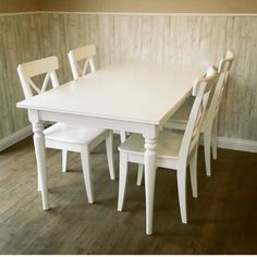 Ingatorp Extendable Table White Ikea Home Tour