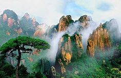 Sanqing, China.  http://www.worldheritagesite.org/sites/sanqingshan.html