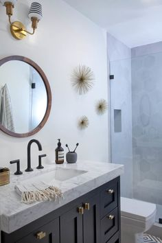 29 Guest Bathroom Ideas to 'Wow' Your Visitors MakeOver Small Bathroom Remodel On A Budget DIY Bathroom Remodel Ideas With Tub Half Paint Bathroom Shower Remodel Master Tile Farmhouse Bathroom Remodel Rustic Bathroom Remodel Before And After Condo Remodel, Diy Bathroom Remodel, Shower Remodel, Bath Remodel, Bathroom Remodeling, Remodeling Ideas, Bathroom Makeovers, Bathroom Vanity Designs, Bathroom Floor Tiles
