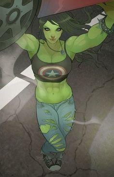 She-Hulk by Elizabeth Torque