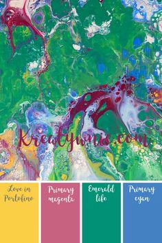 Primary Magenta - Farba mineralna fleur 130 ml Magenta, Shabby, Map, Life, Location Map, Maps