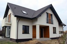 Zadbany - wariant I Architect House, Home Fashion, Home Projects, Building A House, House Plans, Buildings, House Design, Mansions, Future