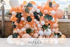 How to Create a Beautiful Balloon Wall in 5 Easy Steps Bubblegum Balloons, Pastel Balloons, Metallic Balloons, Large Balloons, Custom Balloons, Gold Balloons, Ballons, Rainbow Balloon Arch, Balloon Wall