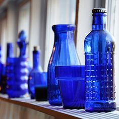 Antiquities of Blue Glass