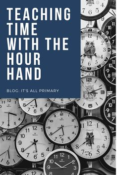Teaching time using the hour hand is rather straight forward. This blog post lays out some simple to follow strategies to give your students success with learning to tell time.