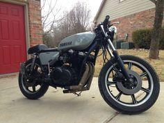 '77 Yamaha XS750/850  ni te afgelekt