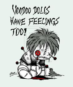 For them days when you feel like a voodoo doll...