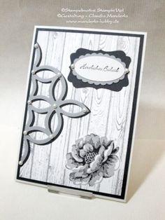 Handgemachte Stampin´Up! C6 Doppelkarte Trauer - Herzliches Beileid   eBay