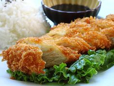 Try this easy traditional recipe on JAPANESE FOUNDATION DAY: CHICKEN KATSU http://www.allaboutcuisines.com/recipe/japanese-chicken-katsu #Japanese recipes #Japanese Food