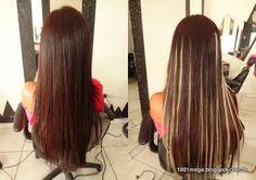 Cabelo das Famosas - Mechas no Mega Hair