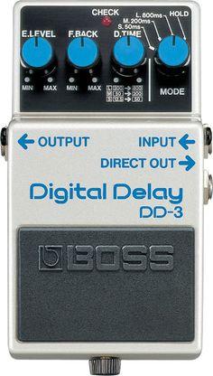 £105 Image: Boss DD-3 Digital Delay Pedal