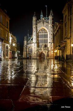 Bath Abbey Stonehenge, Bath Somerset, Bath Uk, Best Bath, England Uk, Somerset England, English Countryside, Beautiful Architecture, Kirchen