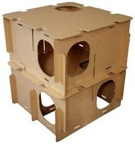 Bunny playhouses - gotta get one for the chinchillas!