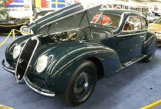 1939 Alfa Romeo 6C2500 Sport Touring Berlinetta