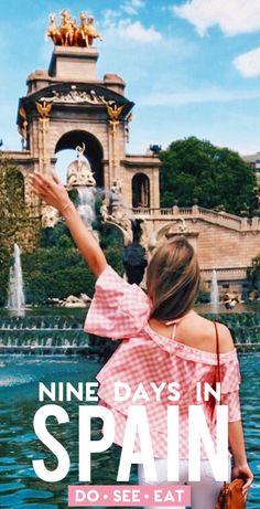 New travel spain winter ideas Spain Travel Guide, Europe Travel Tips, New Travel, Travel Abroad, European Travel, Travel Packing, Backpacking Europe, Beach Travel, Hawaii Travel