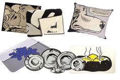 Barneys Lauches Roy Lichtenstein Home Decor Collection [Video]