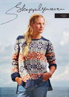 I denne kolleksjonen vil SANDNES GARN sammen med Skappel inspirere deg til gleden ved å skape. Dorthe har designet 5 nye strikkedesign som du nå har gleden av å strikke i SURI ALPAKKA, MINI ALPAKKA og MYK.