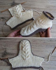 Wool Cable Slippers – Free Knitting Pattern Wool Cable Slippers – Free Knitting Pattern,Knitting Patterns Wool Cable Slippers – Free Knitting Pattern Related posts:Crochet Tutorial: Wiggles & Giggles Baby Blanket - YARNutopia by Nadia. Knitting Patterns Free, Knit Patterns, Free Knitting, Baby Knitting, Beginner Knitting, Pattern Sewing, Blanket Patterns, Vintage Knitting, Knit Or Crochet