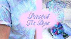 ♡ PASTEL Tie Dye DIY 3 Dying Techniques ♡ HOW TO PASTEL: Rinse a minute or two after dying, then throw in washer individually or together with your other dye. Tulip Tie Dye, Pastel Tie Dye, How To Tie Dye, Tie And Dye, Ice Tie Dye, Diy Tie Dye Shirts, Diy Shirt, Tie Dye Crafts, Diy Crafts