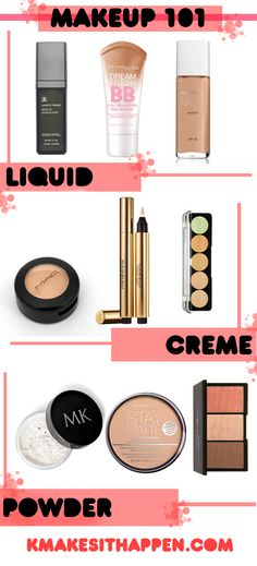 Makeup 101 - Foundation Makeup Tips - Makeup Magic