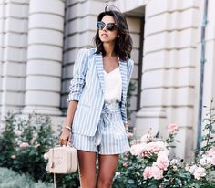 The biggest spring 2020 street style trends what to wear this spring 2020 best spring outfits 2020 Womens Fashion Casual Summer, Summer Outfits Women, Womens Fashion For Work, Look Fashion, Spring Outfits, Trendy Fashion, Spring Shorts, Fashion Ideas, Spring Fashion