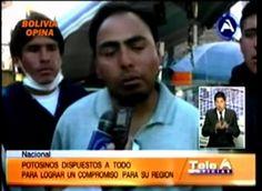 Bolivia Informa: Comcipo: Si tiene que haber muertos, los habrá