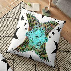 Floor Pillows, Throw Pillows, Digital Art, My Arts, Vibrant, Cushions, Art Prints, Printed, Awesome