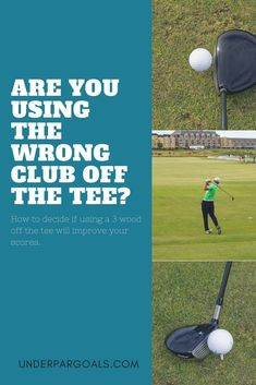 Find out if you can save strokes just by switching clubs off the tee. Golf Tips Golf Instruction Golf Clubs Golf 2, Play Golf, Golf Ball, Golf Putting Tips, Club Face, Golf Drivers, Golf Instruction, Driving Tips, Golf Tips For Beginners