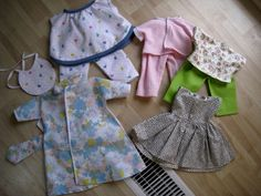 baby alive doll clothes patterns free | full set for Abbie's Our Generation doll... I still need to make the ...