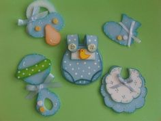 distintivos baby shower niño - Buscar con Google