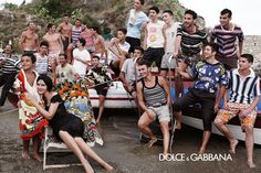 A Perfect Italian Summer By Dolce & Gabbana / 2013 Campaign