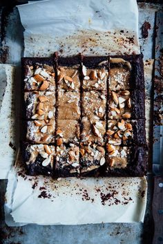 tiger nut-dates-sweet potato-beans brownies