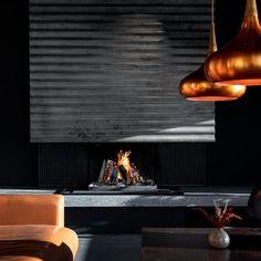 """Brunner on Instagram: """"Feuergenuss 🔥 mit dem BRUNNER Urfeuer auf höchstem Niveau. Dieses Kaminfeuer ist ein Erlebnis für die Sinne in stilvoller Aufmachung 😍…"""" Modern Fireplaces, Trends, Lighting, Instagram, Home Decor, Log Fires, Projects, House, Modern Fireplace Mantels"""