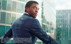 Another look at Chadwick Boseman as T'Challa/#BlackPanther via Entertainment Weekly!   #CaptainAmericaCivilWar