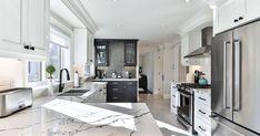New Countertops, Kitchen Cabinet Kings, Kitchen Cabinet Hardware, Custom Kitchens, Cool Kitchens, Grey Kitchen Designs, Kitchen Modern, 185, Kitchen Designs