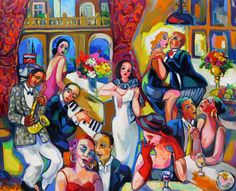 The Last Dance South African Artists, Last Dance, Painting, Painting Art, Paintings, Painted Canvas, Drawings