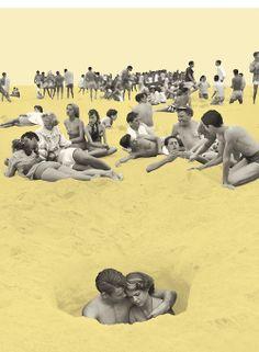 BAIN DE FOULE - 1e prix 'Création graphique' au Festival MyProvence Concours online MyProvence Festival 2013: bain de foul...