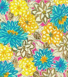 Home Decor Print Fabric- Laurette Matisse Dance Magenta