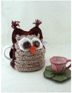 I have rounded up some of the best and interesting free Crochet Cozy patterns for your home!Patons Whoo Wants Tea