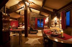 Abritel Location Le Grand-Bornand - La plus haute Ski-in Ski-out Catered Chalet de ski dans Resort location chalet en Haute-Savoie