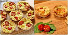 Vídeo Receita: aprenda a fazer mini quiches de tortilla!