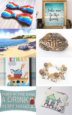 Take Me to the Beach! by Jeanie on Etsy--Pinned with TreasuryPin.com