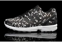 buy popular 9c2fe 48033 Soldes Superbement Confortable Homme Adidas Originals ZX Flux Noir Blanche  Triangle Chaussures 2016 Free Shipping NGYy8sa, Price   70.00 - Adidas Shoes  ...