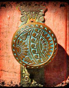 Art Deco Doorknob