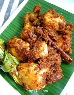 Peng's Kitchen: Nyonya Curry Chicken