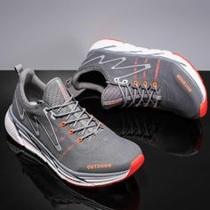 New Breathable Running Shoes Comfortable Sneakers Fashion Couple Outdoor Casual shoes Best Sneakers, Sneakers Fashion, Sneakers For Plantar Fasciitis, Mens Skechers, Comfortable Sneakers, Fashion Couple, Women Lifestyle, Running Shirts, Love To Shop