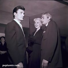 Behind-the-Scenes - Jack Palance and Jeff Chandler  SIGN OF THE PAGAN