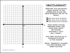 You sunk my battleship! Use this printable Battleship grid