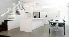 Caesarstone Classico #2141 Snow, island & countertop, Environa Studio, Australia
